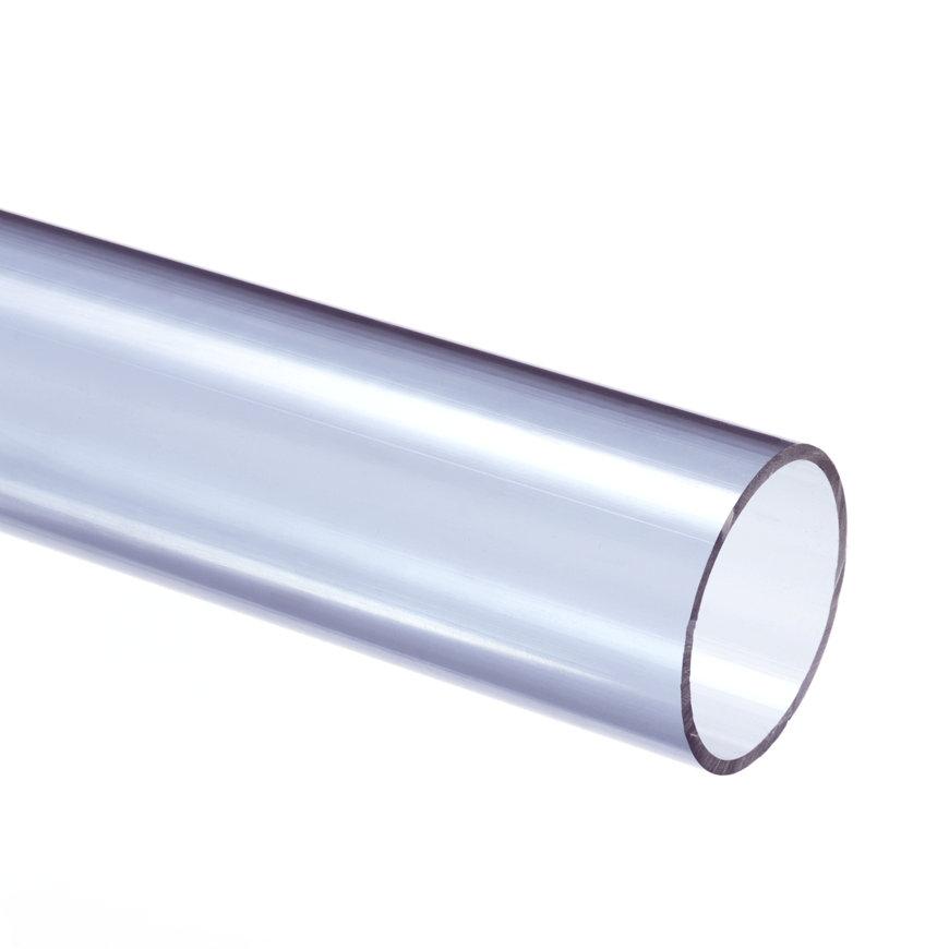 Pvc drukbuis, transparant, 10 bar, 50 x 2,4 mm, l = 5 m  default 870x870