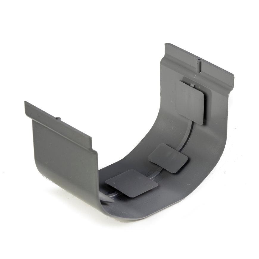 S-lon verbindingsstuk, pvc, 65 mm, grijs  default 870x870