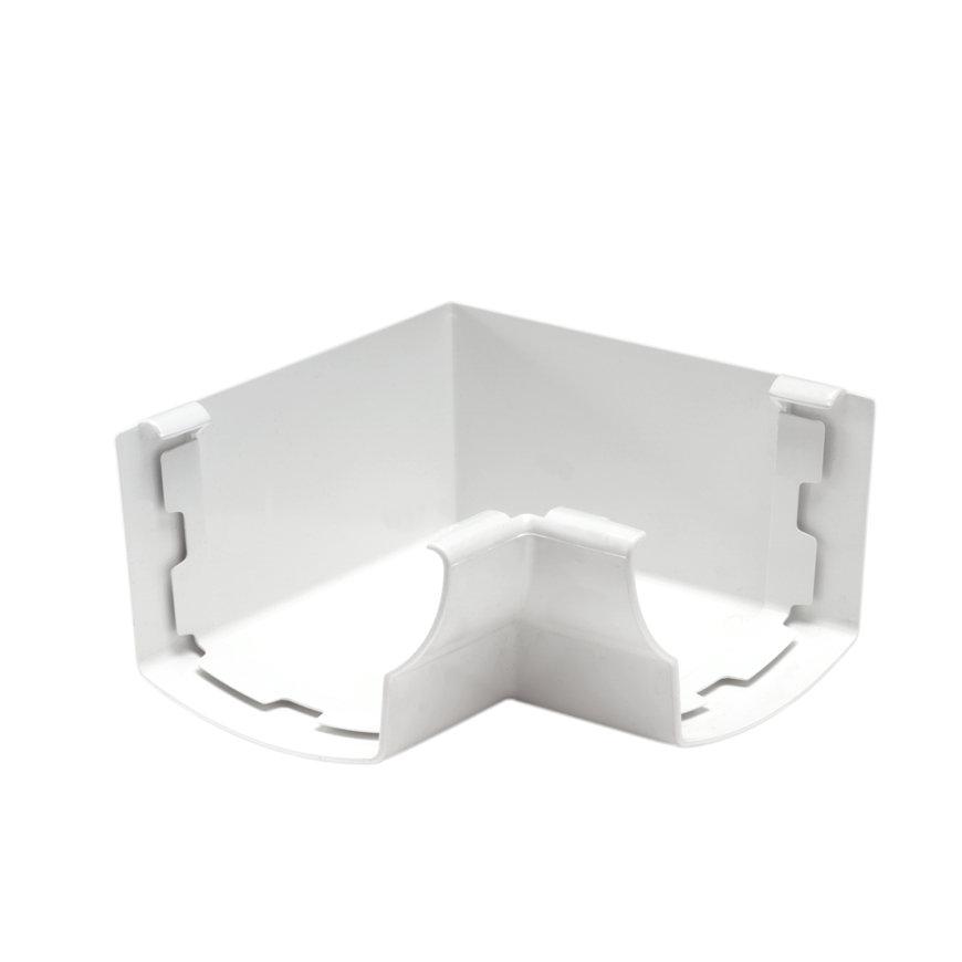 Nicoll Ovation binnenhoekstuk 90°, pvc, wit, RAL 9010, 125 mm