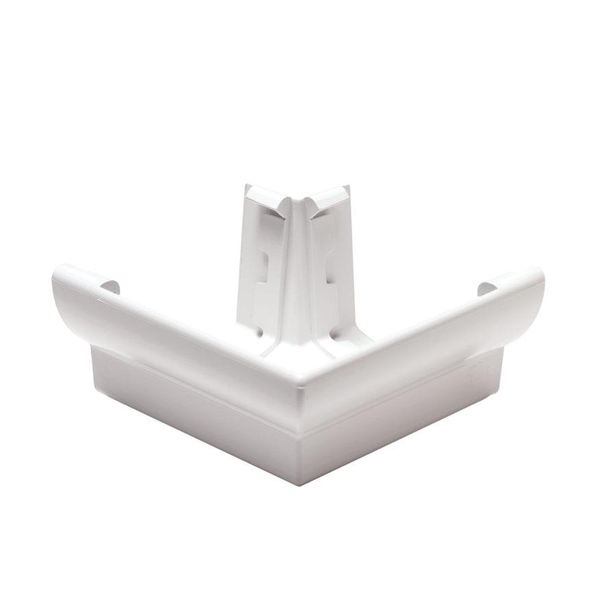 Nicoll Ovation buitenhoekstuk 90°, pvc, wit, RAL9010, 170 mm