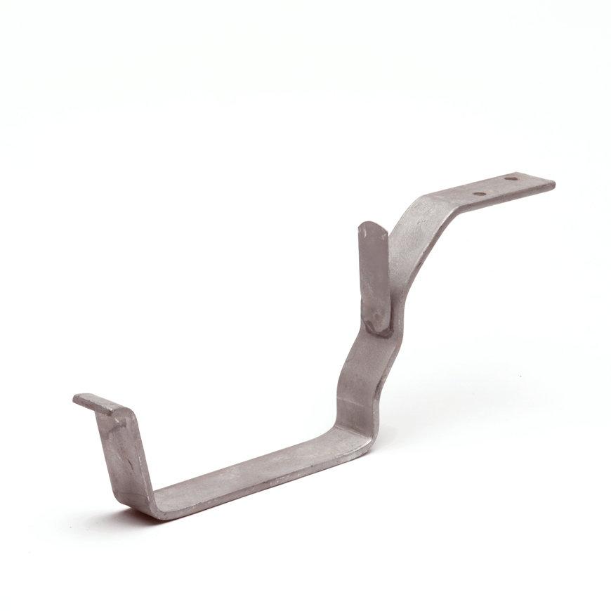 Gootbeugel voor S-lon bakgoot, gegalvaniseerd nr. 4, 180 mm, grijs  default 870x870