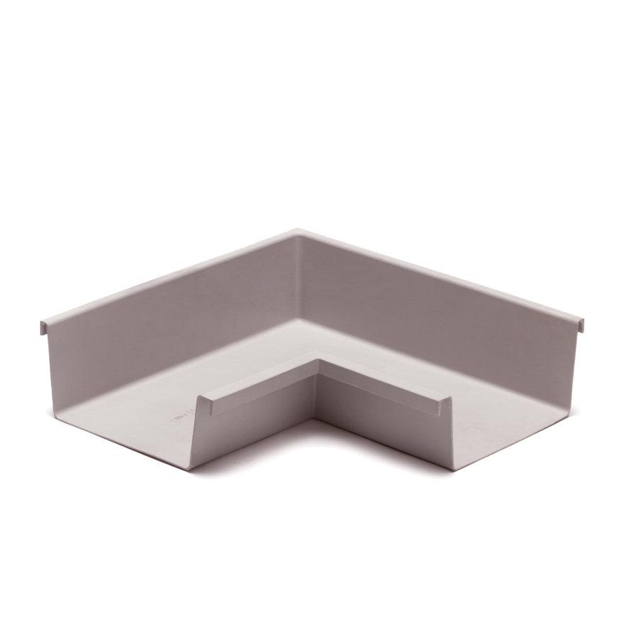 Ubbink binnenhoek voor bakgoot, polyester, 205 mm, grijs  default 870x870