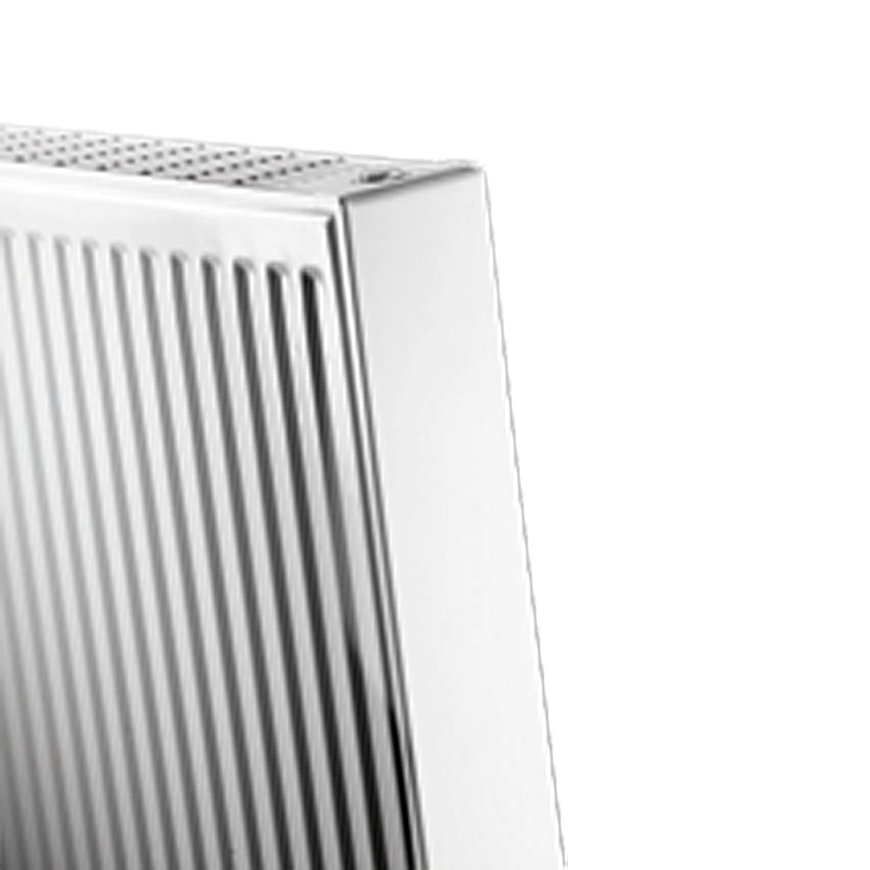 Thermrad Vertical Compact radiator, type 22, lengte 400 mm, hoogte 2200 mm, afg. 75/65/20 - 1658 W  default 870x870