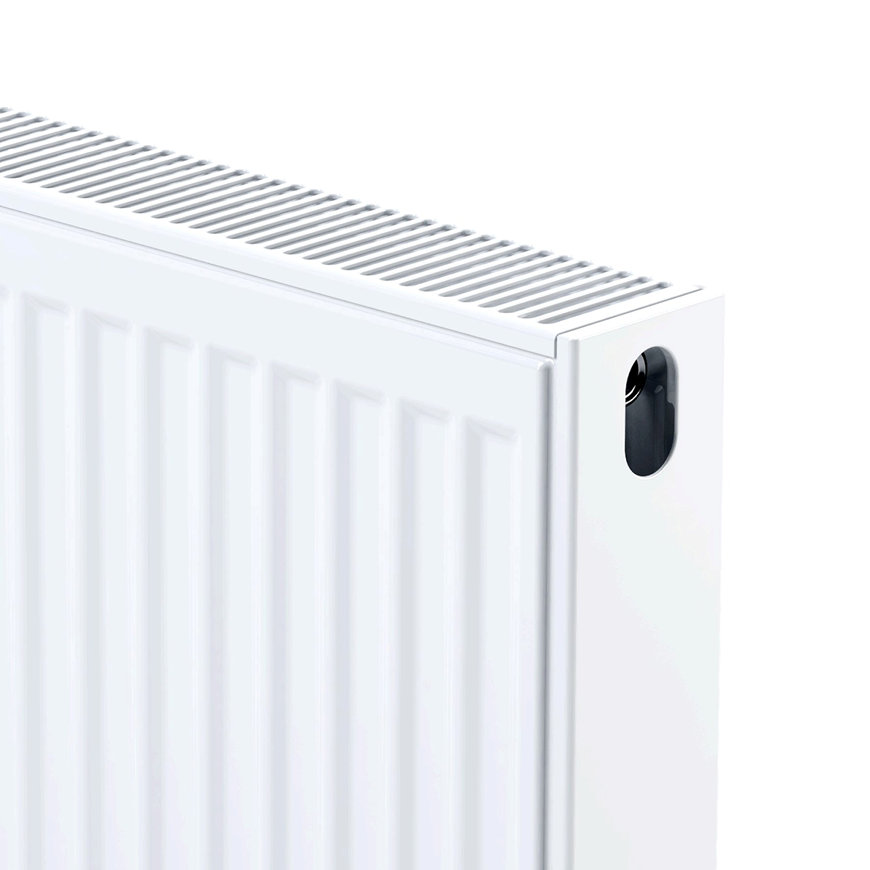 Thermrad Compact-4 plus radiator, type 21, hoogte 400 mm, lengte 2200 mm, afg. 75/65/20 - 2209 W  default 870x870