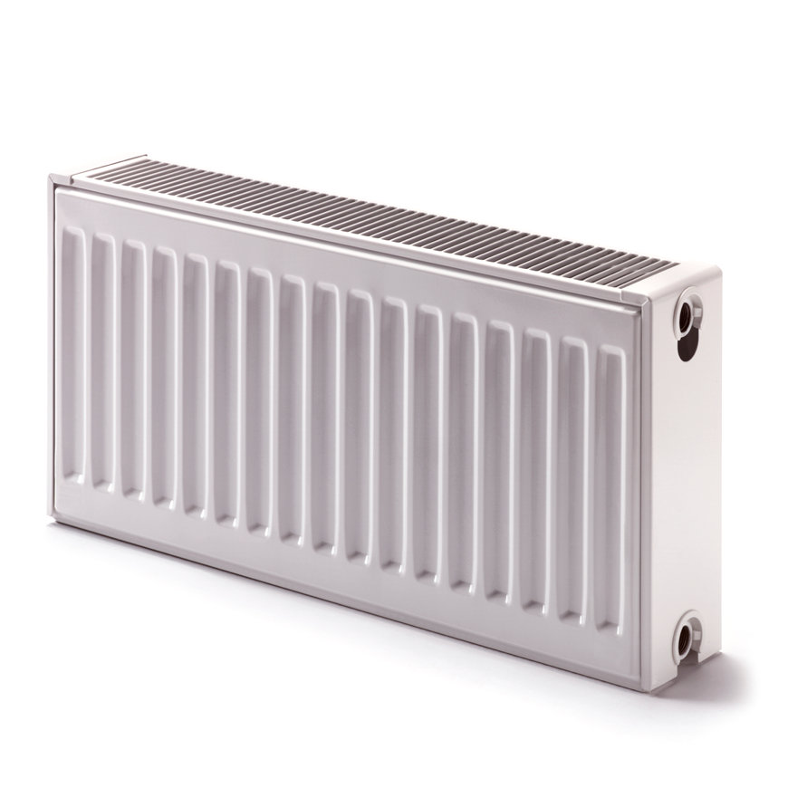 Dura kompakt radiator, type 33, universeel, hoogte 900 mm, l = 400 mm, 1319 W