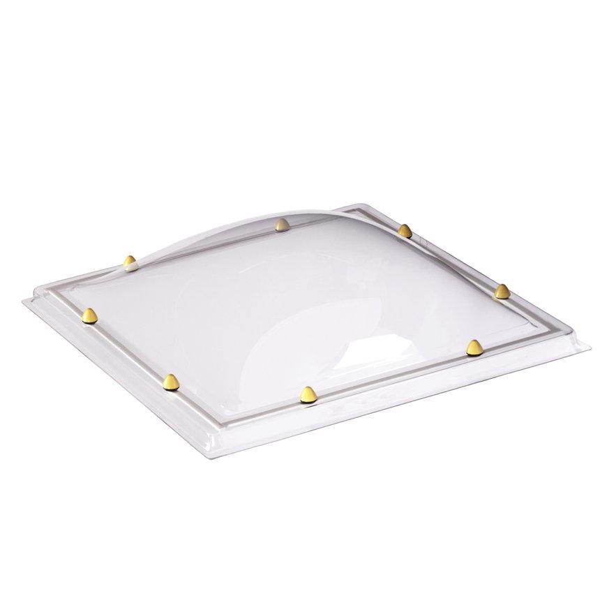 Skylux acrylaat lichtkoepel, 1-wandig, helder, 100 x 200 cm