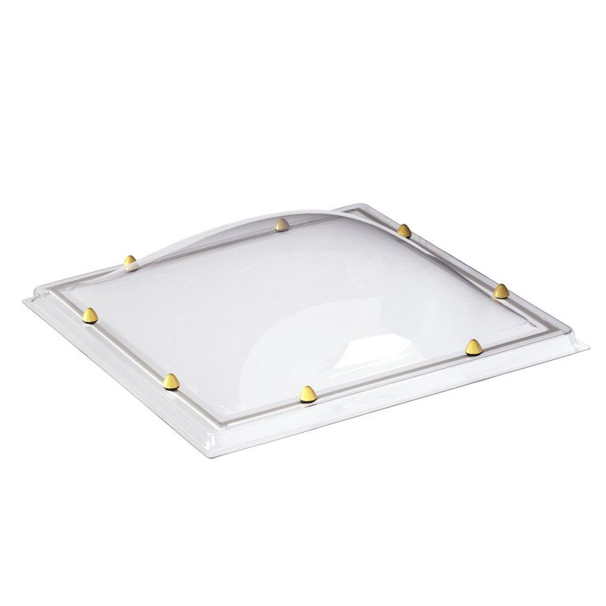 Skylux acrylaat lichtkoepel, 2-wandig, helder, 75 x 125 cm