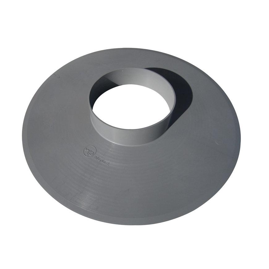 Pvc plakplaat voor enkelwandige ontluchtingskap, 70 mm