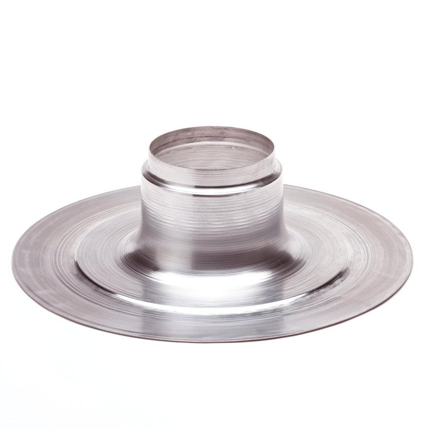 Aluminium plakplaat voor plat dak, 130/R