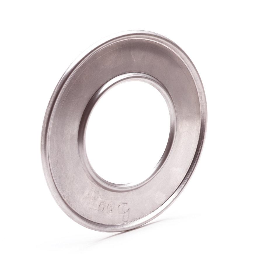 Aluminium pijpring, enkelwandig, 100 mm  default 870x870