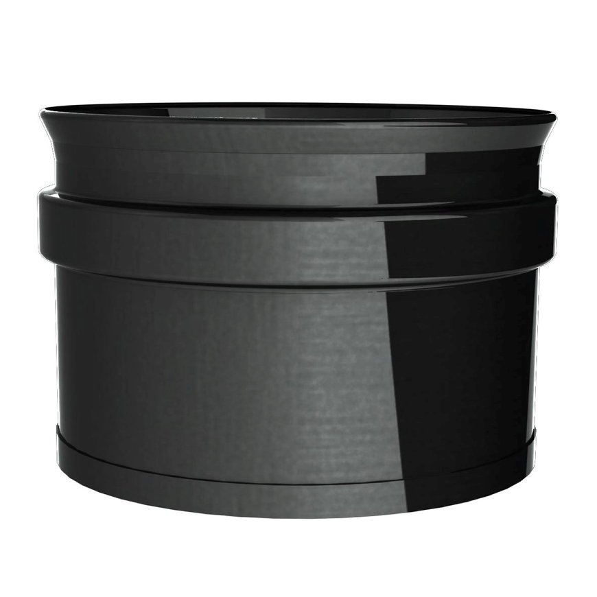 Dinak SW pellets black, enkelwandige rookgasafvoer roetverzamelaar, type 608, 80 mm  default 870x870