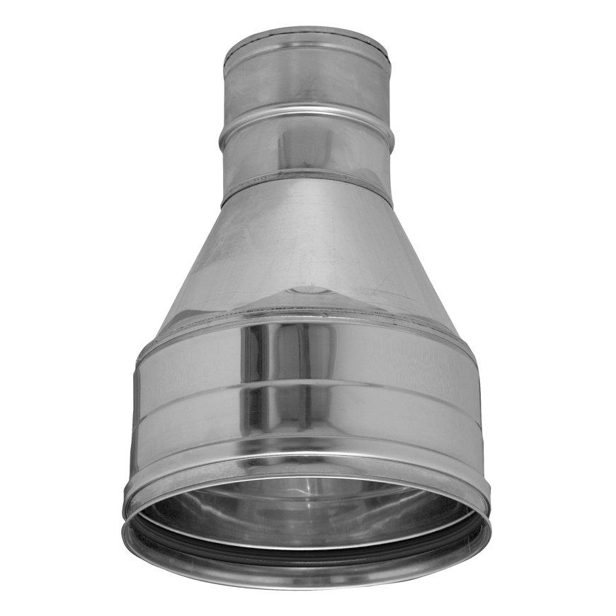 Dinak SW, rookgasafvoer reductiestuk, concentrisch, type 026, 200/100 mm  default 870x870