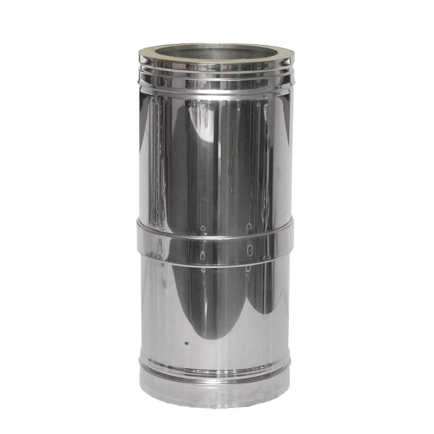 Dinak DW, inkortbare rookgasafvoerbuis, type 235, 300 mm, l = 250 - 380 mm  default 870x870