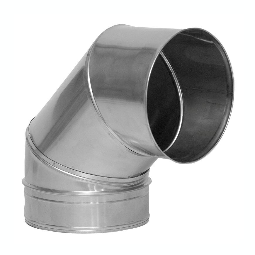 Dinak SW, rookgasafvoerbocht 87°, type 043, 130 mm