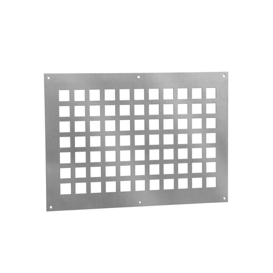 Nedco aluminium ventilatieplaat, 250 x 200 mm  default 870x870