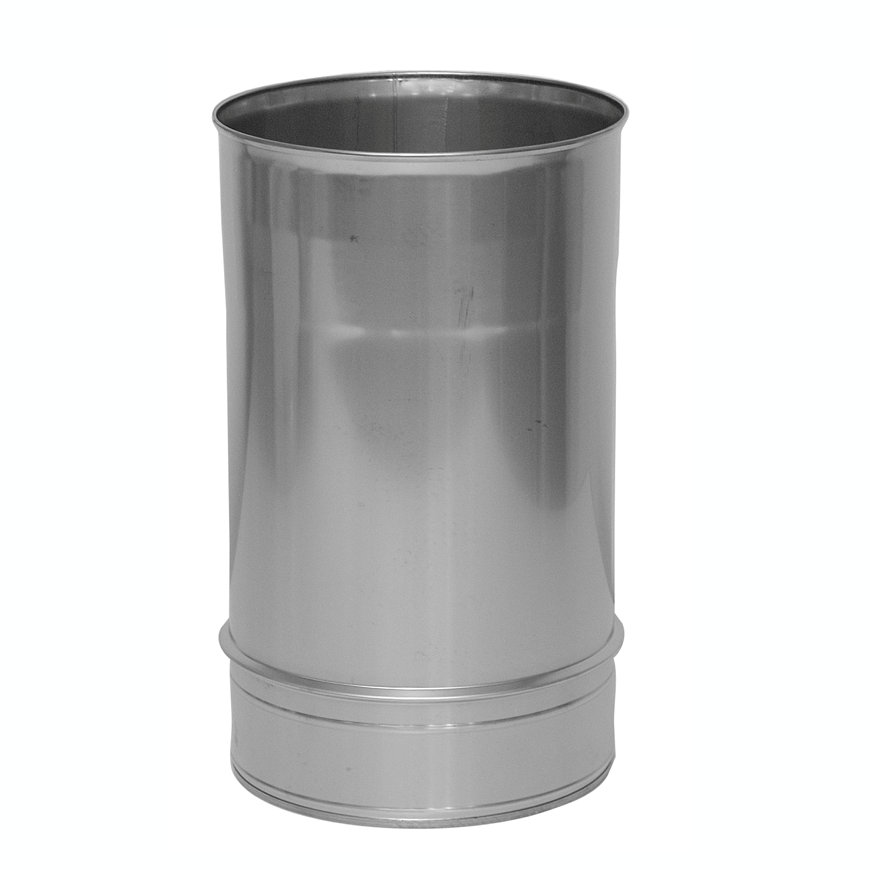Dinak SW/SW hout, rookgasafvoerbuis, type 020, 130 mm, l = 930 mm  default 870x870