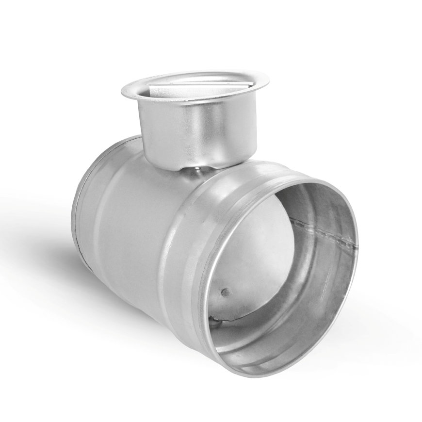 Spiraliet regelklep, 2x verjongd spie, 100 mm  default 870x870