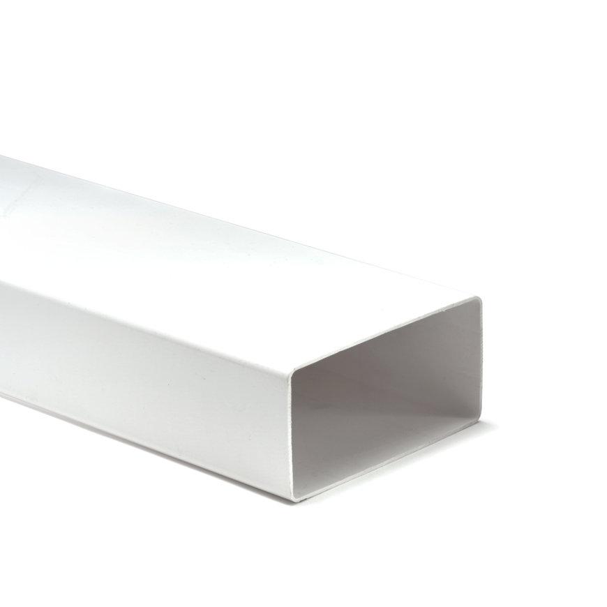 Nedco pvc ventilatiekanaal t.b.v. keukenventilatie, zonder mof, l = 1000 mm, 110 x 54 mm  default 870x870