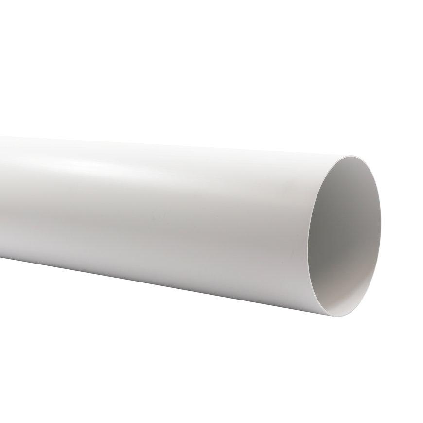 Nedco pvc buisstuk t.b.v. keukenventilatie, l = 350 mm, Ø 125 mm