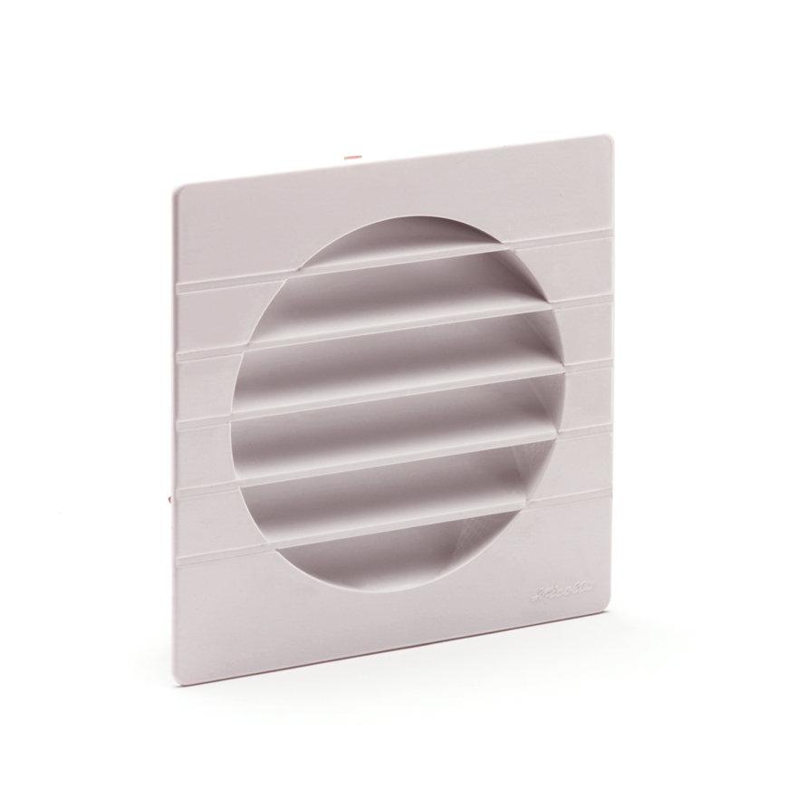 Nicoll pvc ventilatierooster met vliegengaas, 110 mm