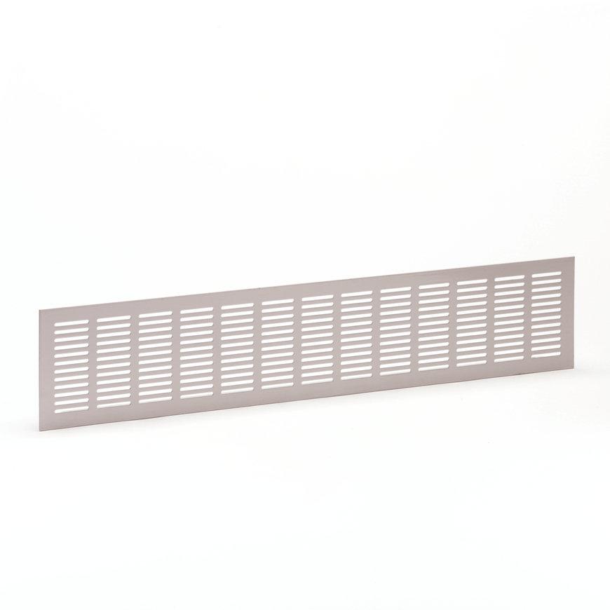 Ventilatiestrip, aluminium, 500 x 100 mm, wit