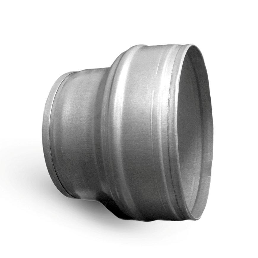 Spiraliet verloopstuk, kort model, 2x verjongd spie, 160 x 100 mm  default 870x870