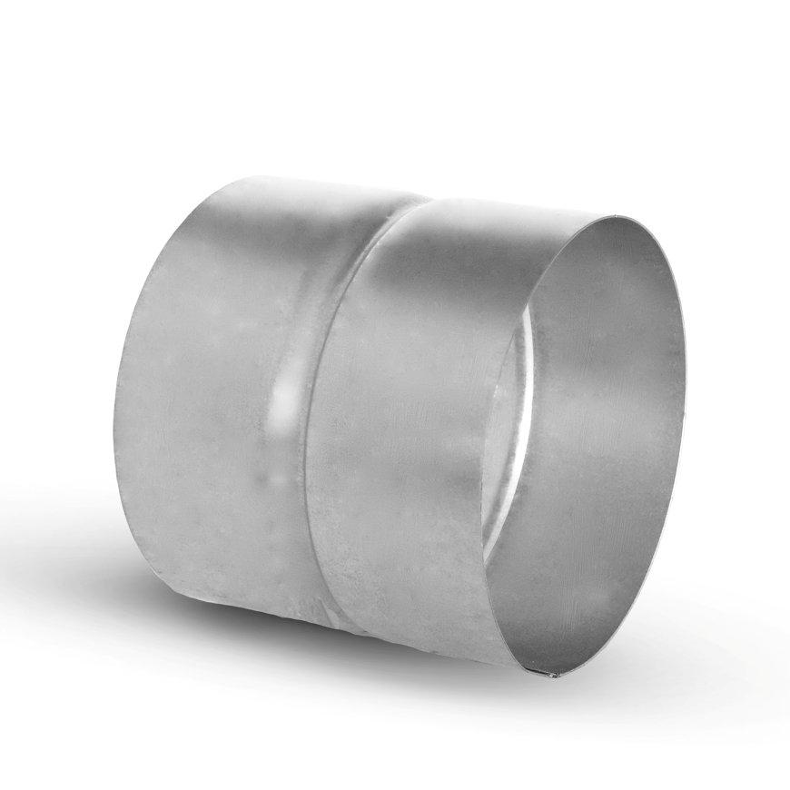 Spiraliet verbindingsstuk, voor hulpstuk, 2x mof, 160 mm  default 870x870
