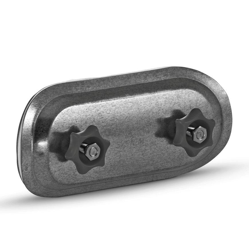 Spiraliet reparatiestuk/inspectiedeksel, voor buis, 315 mm  default 870x870