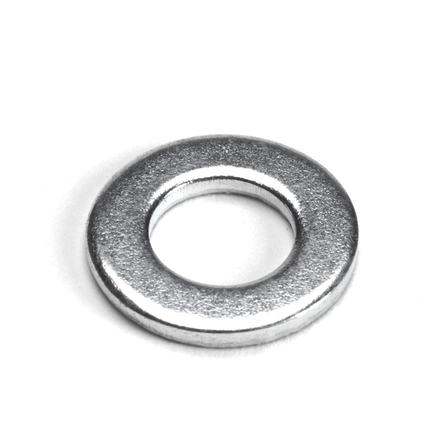 Sluitring, staal, elektrolytisch verzinkt, 22 x 1,5 mm, M10
