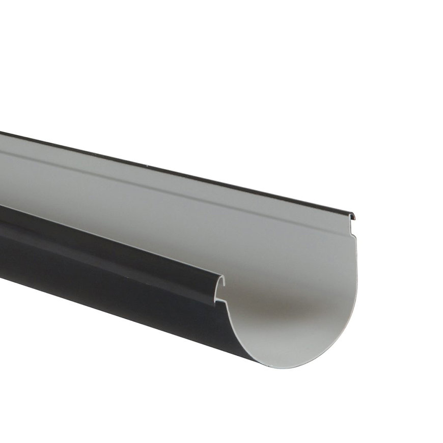 Nicoll Vodalis mastgoot, pvc, antraciet, RAL 7016, 140 mm, l = 4 m