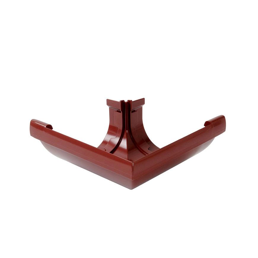 Nicoll Vodalis buitenhoekstuk 90°, pvc, rood, RAL 3004, 140 mm  default 870x870