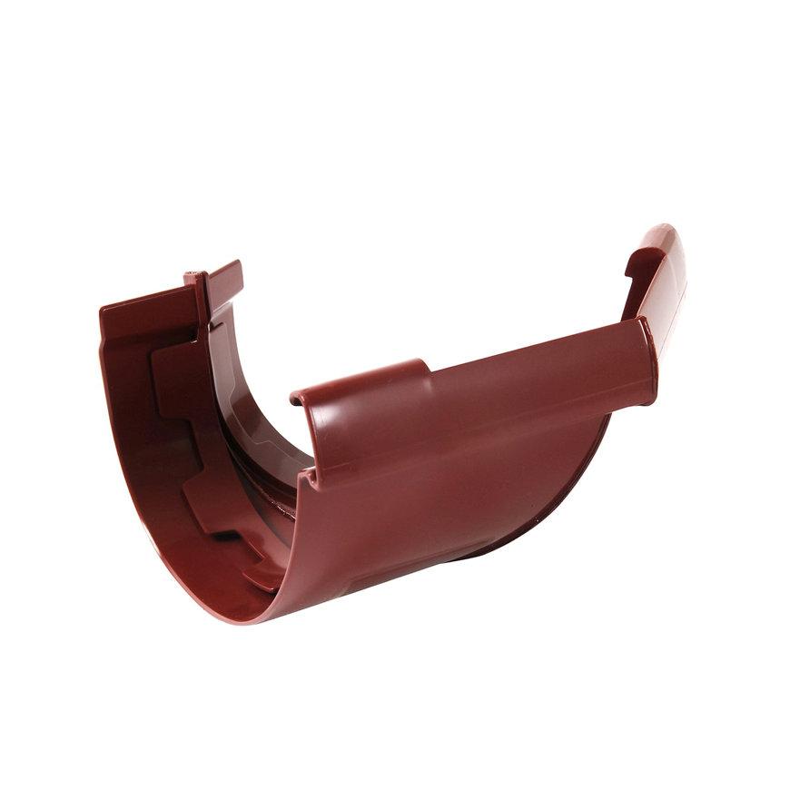 Nicoll Vodalis buitenhoekstuk 135°, pvc, rood, RAL 3004, 140 mm  default 870x870