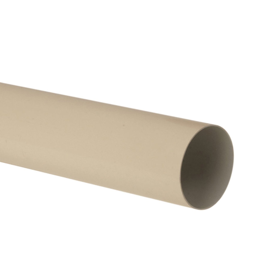 Nicoll hwa buis, pvc, zand, RAL 1015, 80 mm, l = 4 m