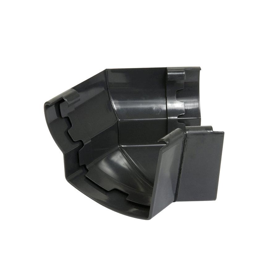 Nicoll Ovation Außenwinkel 135°, PVC, anthrazit, RAL7016, 170 mm