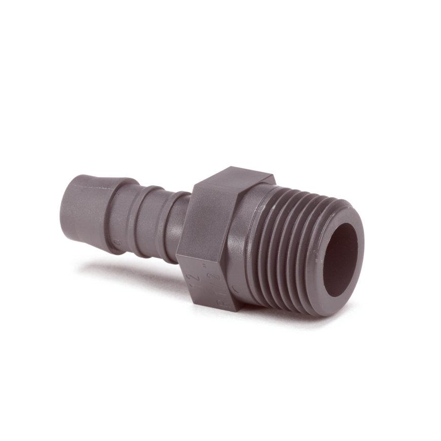 """Normaplast polyamide slangpilaar, buitendraad x slangtule, ¼"""" x 8 mm  default 870x870"""