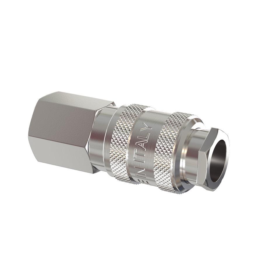 """Messing verchroomde ventielsteekkoppeling met binnendraad, 3/8""""  default 870x870"""