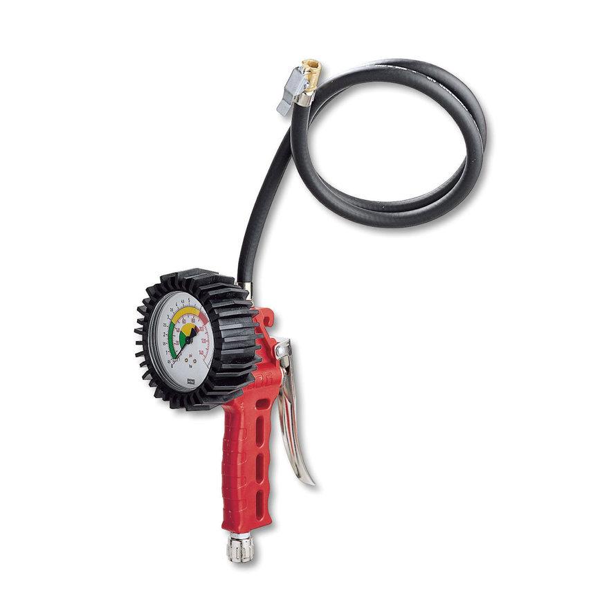 GAV bandenblazer, luxe, drukmeter 80 mm, soepele slang 100 cm  default 870x870