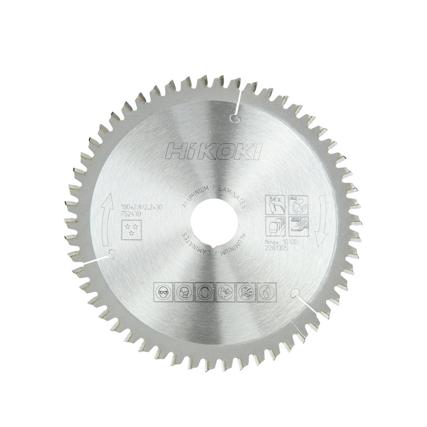 HiKOKI Proline cirkelzaagblad voor hout, 190 x 30 mm, 48 tanden