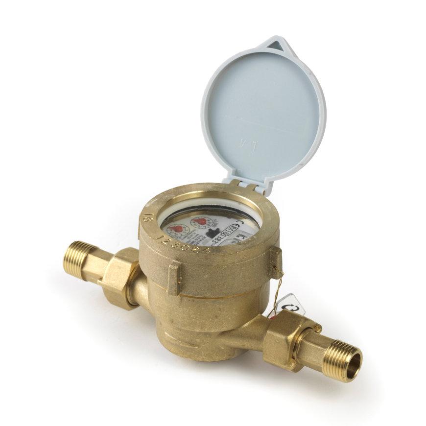 "Watermeter, type ALFA-SJ-LFC, ½"" L110, incl. koppelingen"
