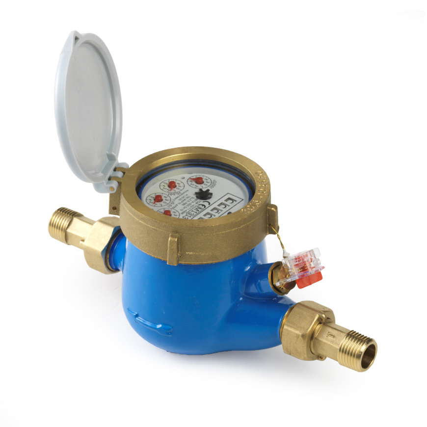 "Watermeter, type BETA-MJ-SDC, 1¼"" L260, incl. koppelingen  default 870x870"