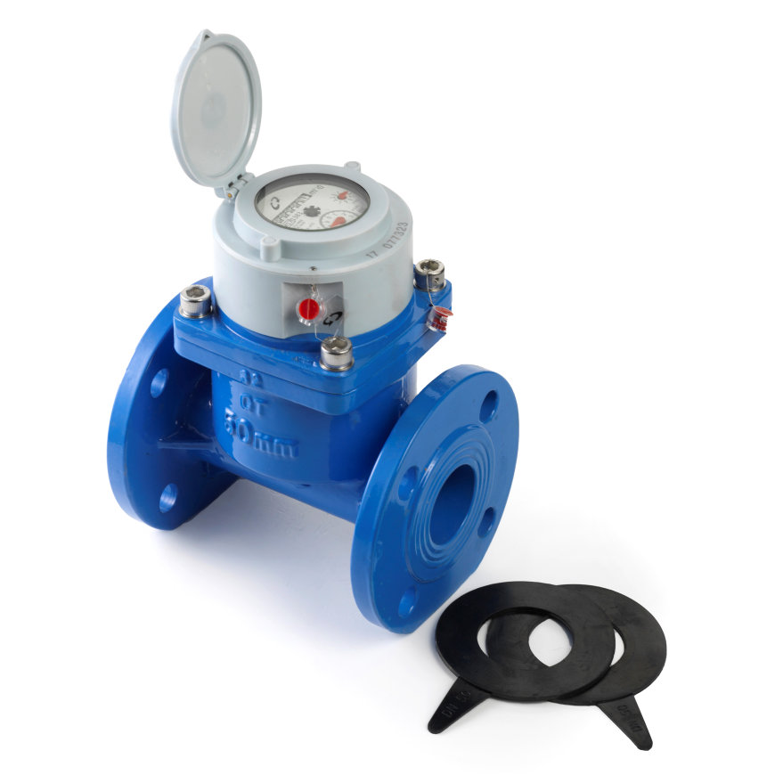 "Watermeter, type DELTA-SJ-SDC, 10"" L450  default 870x870"