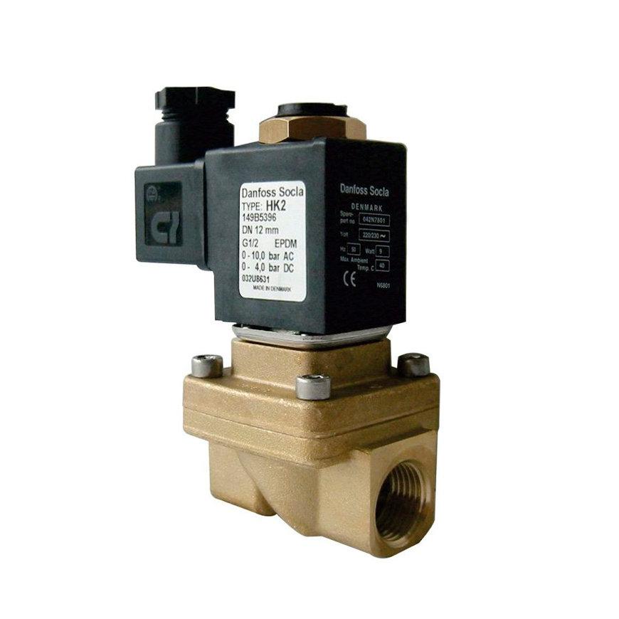 "Danfoss magneetafsluiter, type HK2, epdm, 2x binnendraad, 3/8"", 230 V / 50 Hz, 9 W  default 870x870"