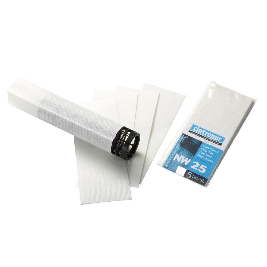 Cintropur filtervlies, 10 micron, NW 25, zak à 5 stuks