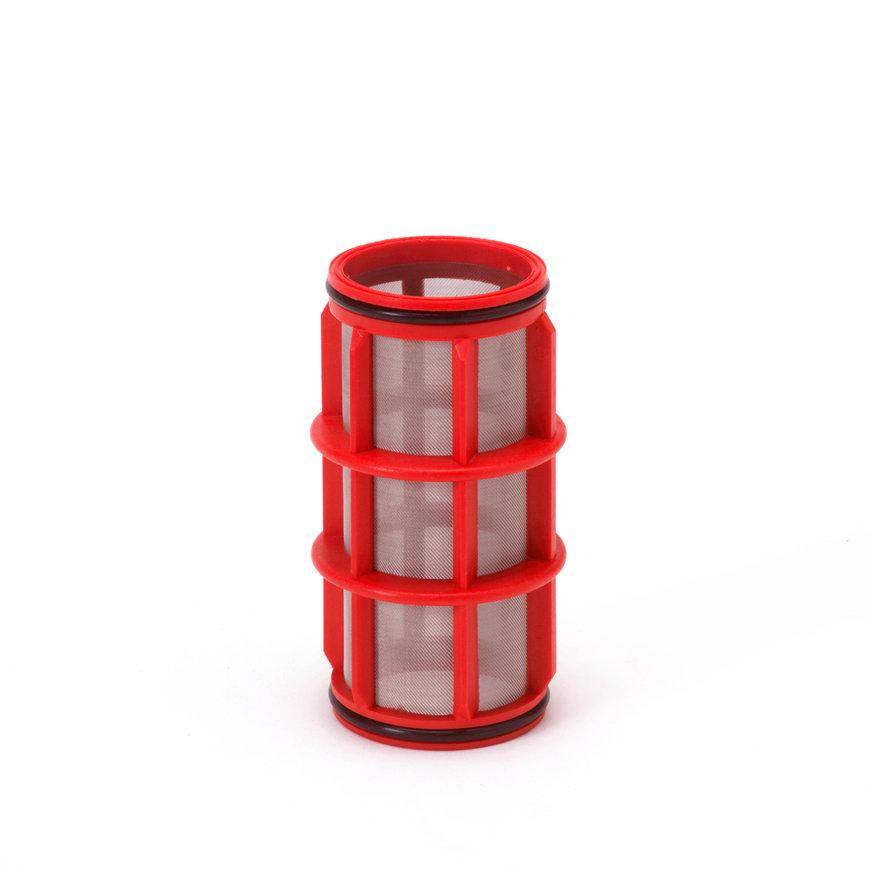 """Amiad cil.zeef tbv kunststof filter 1"""", d x l = 50 x 125 mm, zeefperforatie 0,13 mm, rood  default 870x870"""