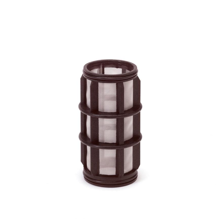 "Amiad cil.zeef tbv kunststof filter 1"", d x l = 50 x 125 mm, zeefperforatie 0,08 mm, zwart"