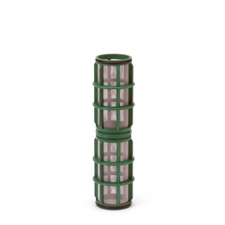 """Amiad cil.zeef tbv vloeistoffilter 2"""", d x l = 100 x 250 mm, zeefperf. 0,50 mm, groen  default 870x870"""