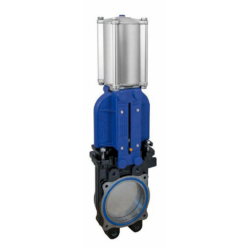 "RIV mesafsluiter, type 123, incl. dubbelwerkende pneumatische cilinder, 5""  default 870x870"