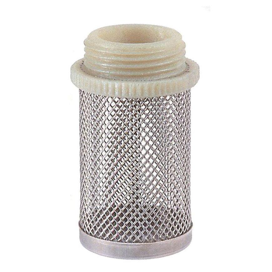 "RIV rvs filterkorf, type 2310, 1x buitendraad, 3/8"""