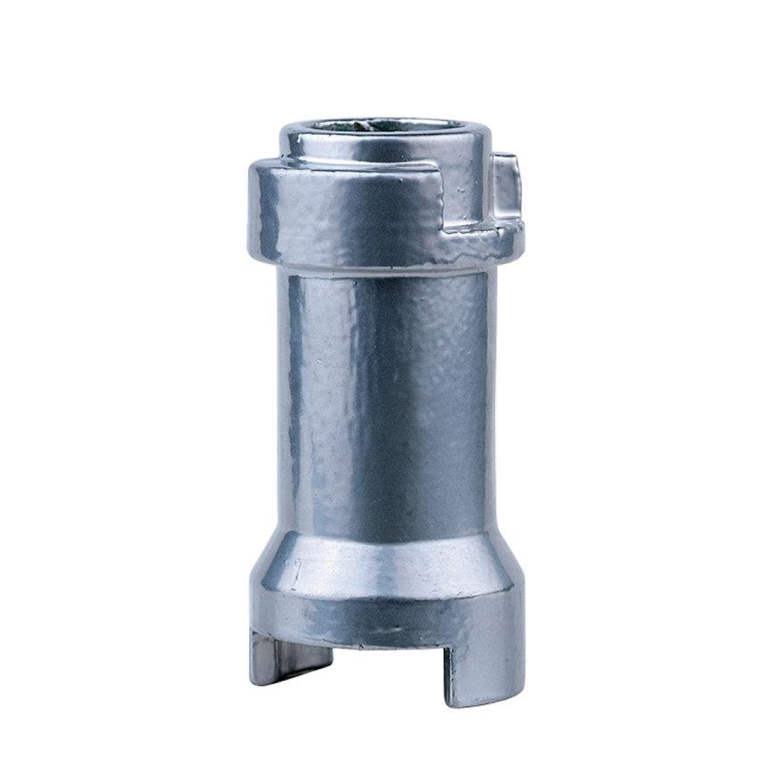 """RIV aluminium stangverlenging met schroef, type 9070, ¼"""" - 3/8"""" - ½"""" ¼"""" - 3/8""""  default 870x870"""