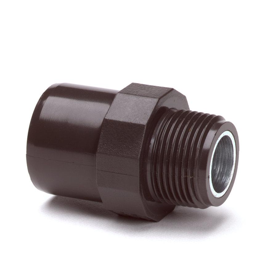 "System'O cpvc draadeind, uitwendig/inwendig lijm x buitendraad, 40/32 mm x 1¼""  default 870x870"